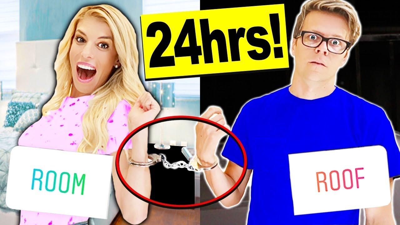 24 HOURS HANDCUFFED to my HUSBAND (you decide what we do)