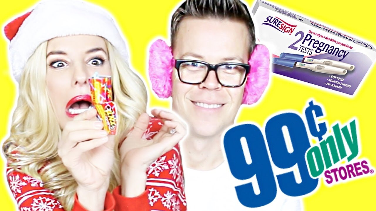 99 CENT STORE GIFT CHALLENGE!!