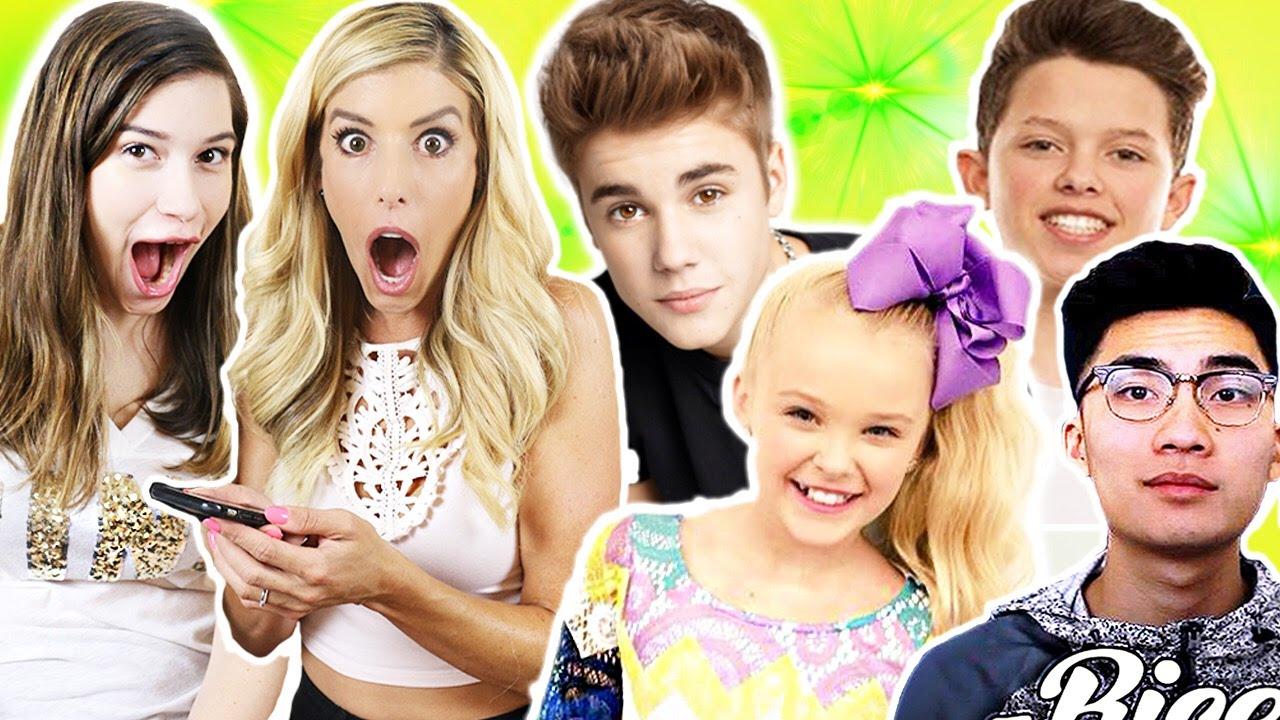 Calling Justin Bieber, Jacob Sartorius & JoJo Siwa!