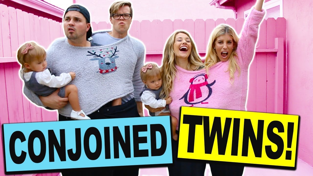 Conjoined Twins Challenge with Real Twin Babies! (Dance Battle Boys vs Girls)
