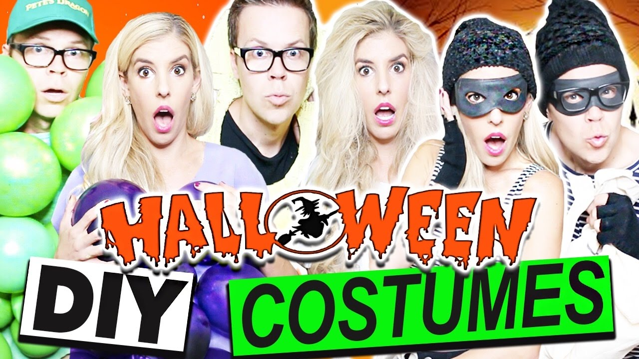 DIY HALLOWEEN COUPLE'S COSTUMES | Cheap and Easy!!