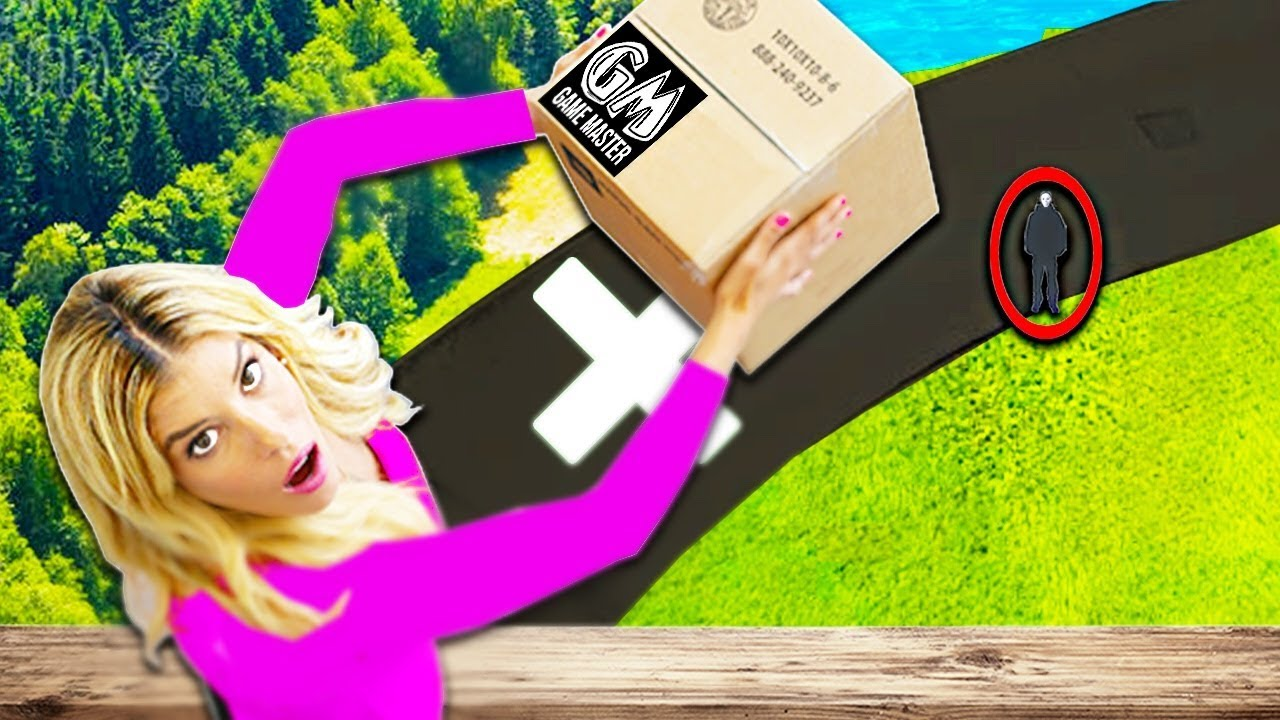 DO NOT Drop the Wrong MYSTERY BOX from 60 ft! Game Master Deletes Youtube Video. (New Evidence)
