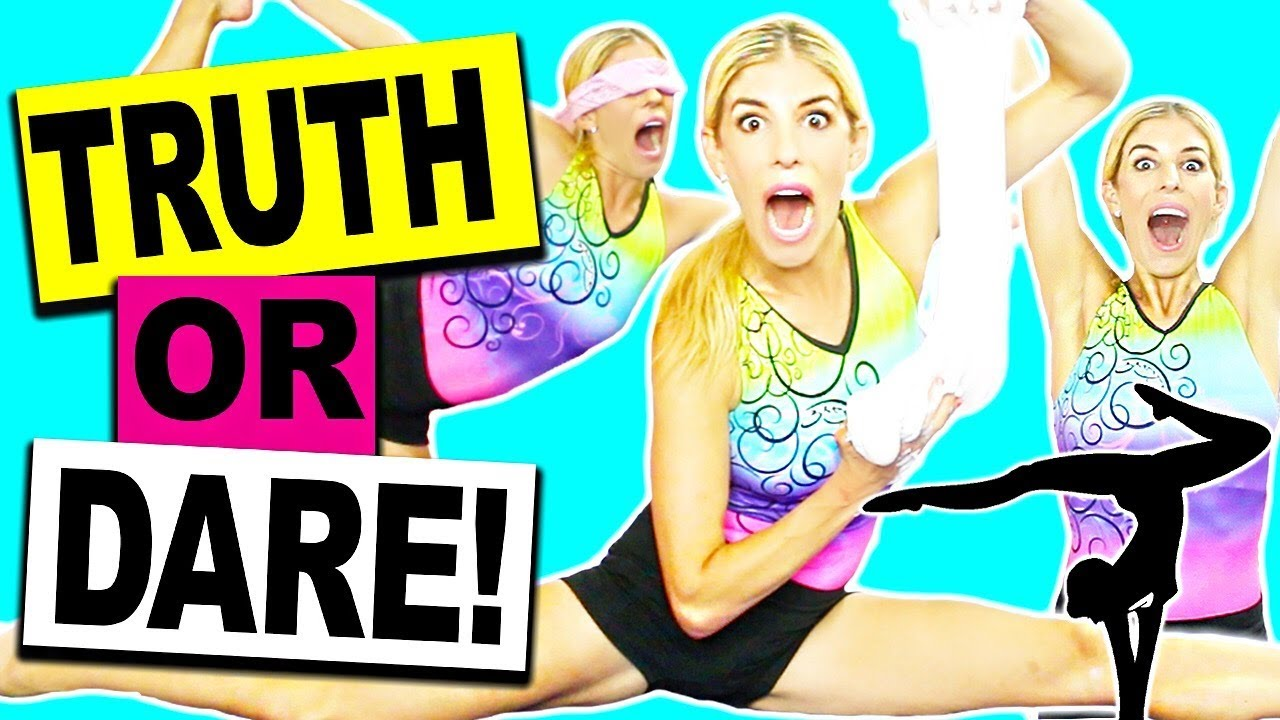 EPIC GYMNASTICS TRUTH OR DARE CHALLENGE!!