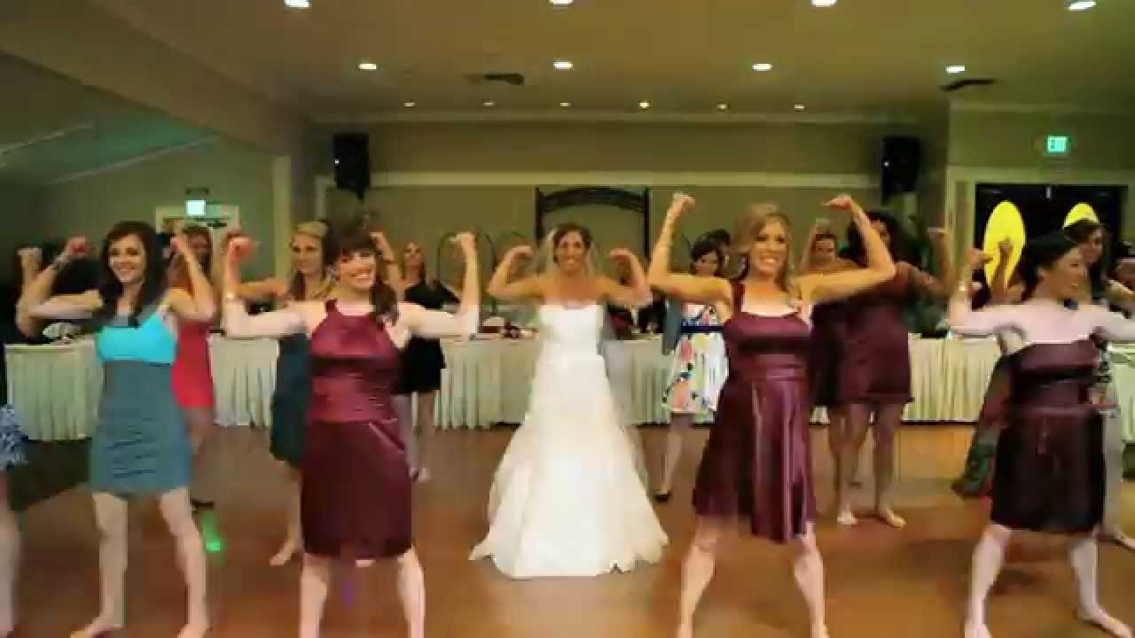 FLASH MOB-My Sister's Wedding (LMFAO Sexy and I Know It)