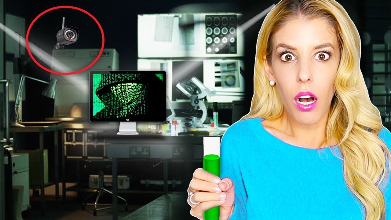 Found GAME MASTER Top Secret LABORATORY! (Using Spy Gadgets to Recreate Lie Detector Potion)