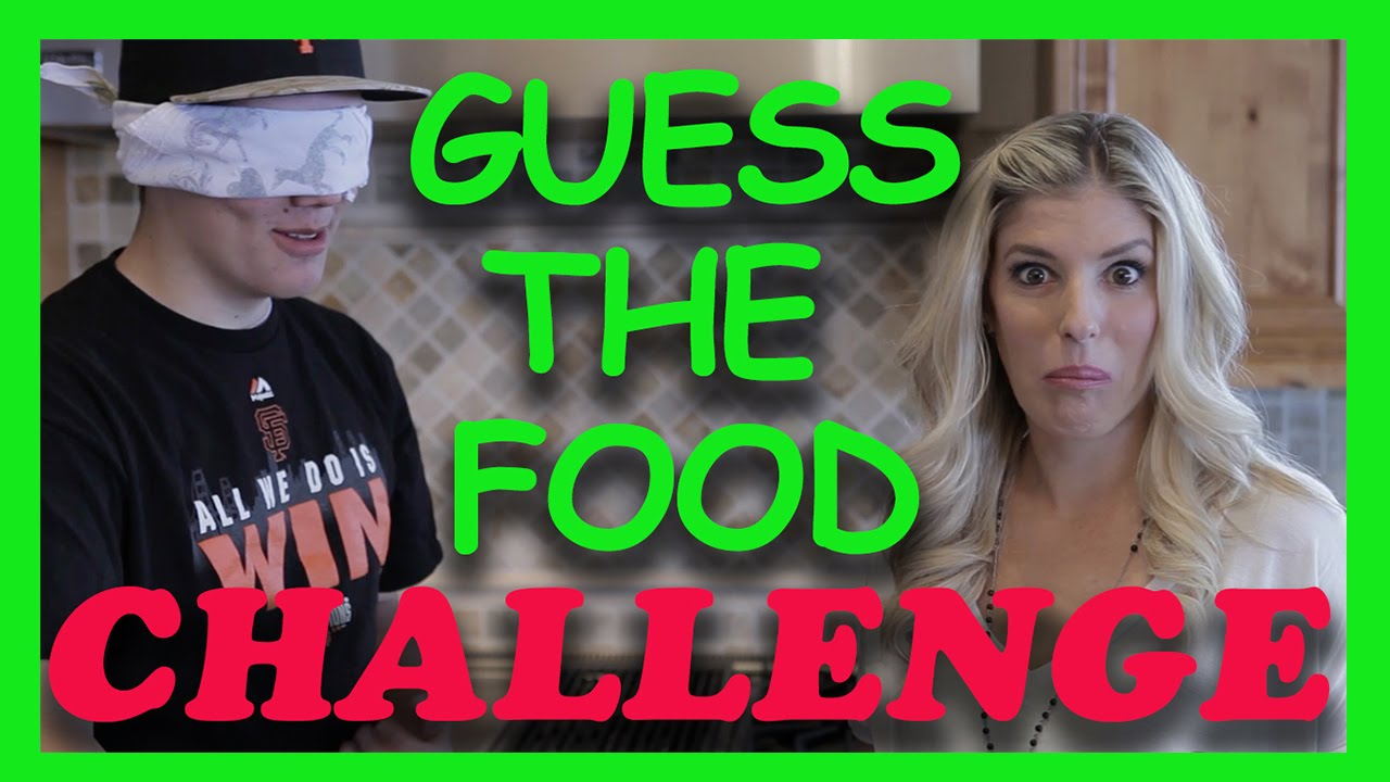 GUESS THE FOOD CHALLENGE! (SIBLING TAG)