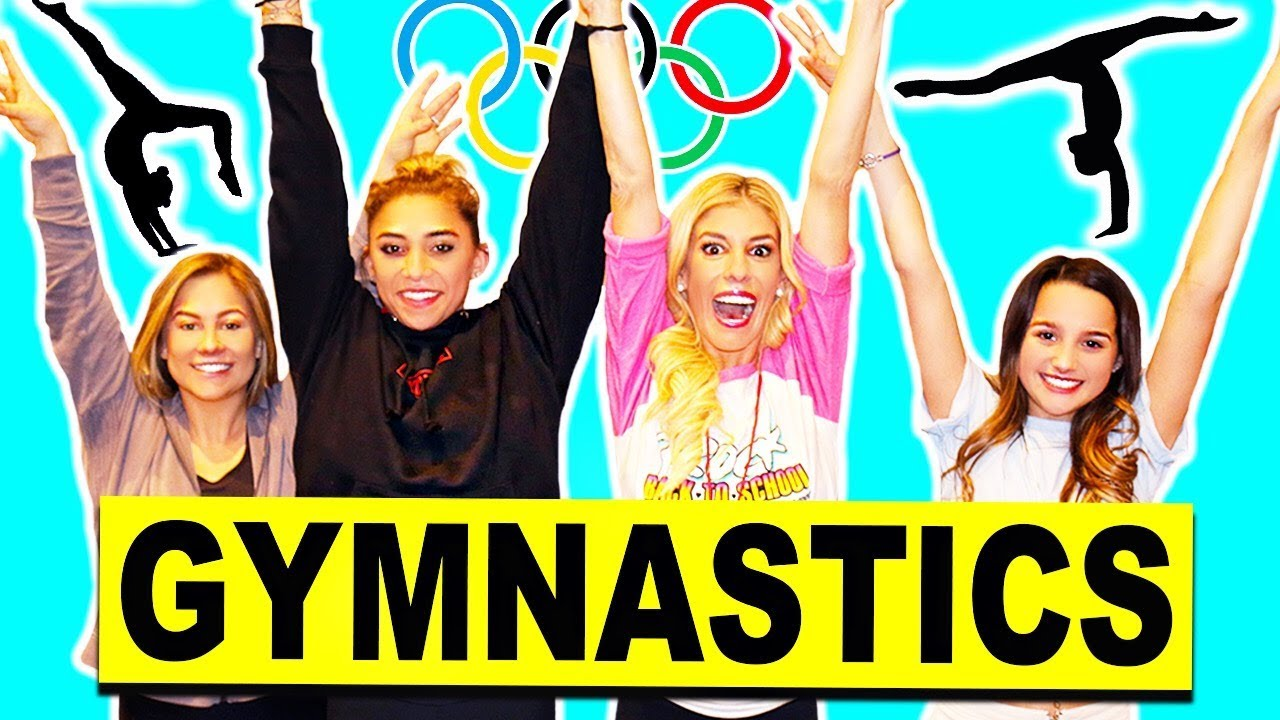 GYMNASTICS CHALLENGE! Truth or Dare with Bratayley, Annie Leblanc, Shawn Johnson, & Olympians!