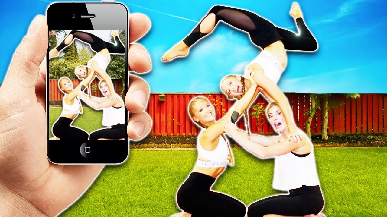 HOW TO MUSiCAL.LY Gymnastics with the RYBKA TWiNS