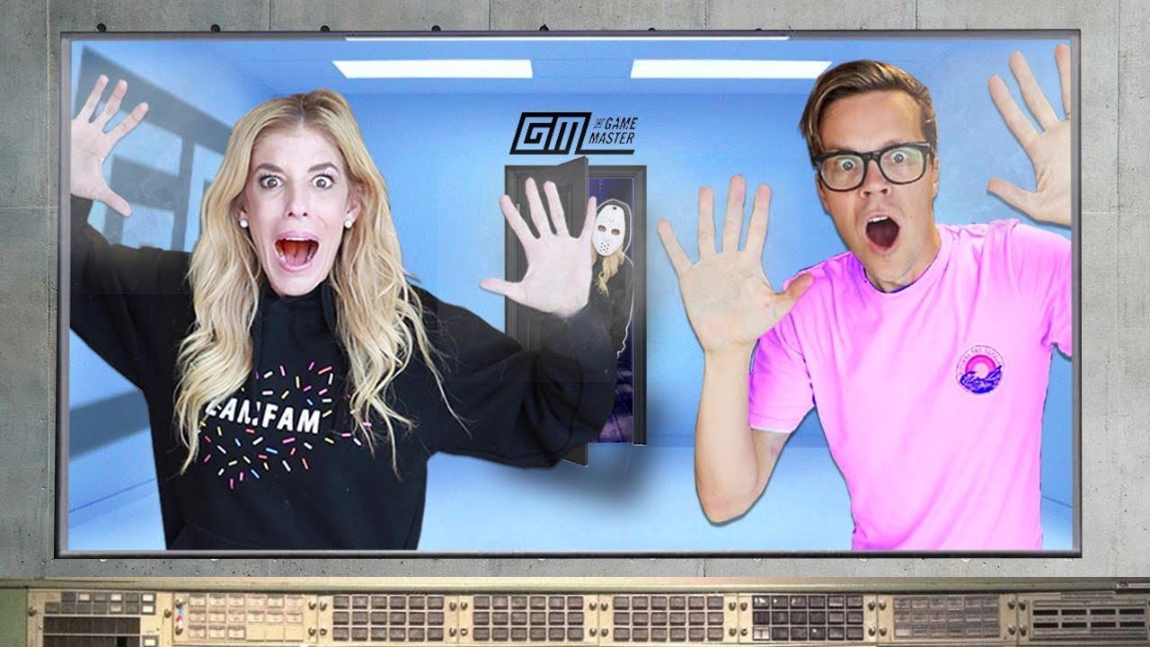 Matt and Rebecca Trapped by Daniel in Game Master Escape Room! (Clues Reveal Quadrant Event Date)