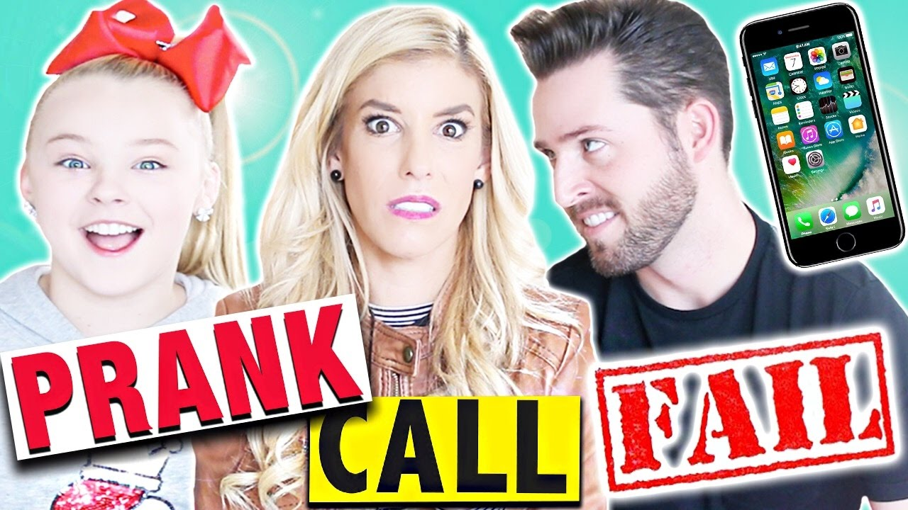 PRANK CALL FAIL! + IPHONE 7 GIVEAWAY!!!! (w/ JoJo Siwa & JoshuaDTV)