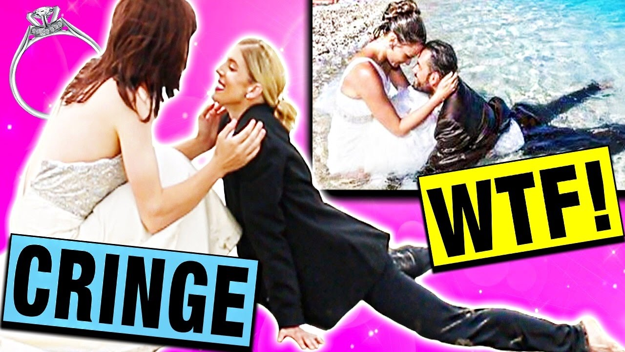 RECREATING CRINGEY WEDDING PHOTOS!! (PART 2)
