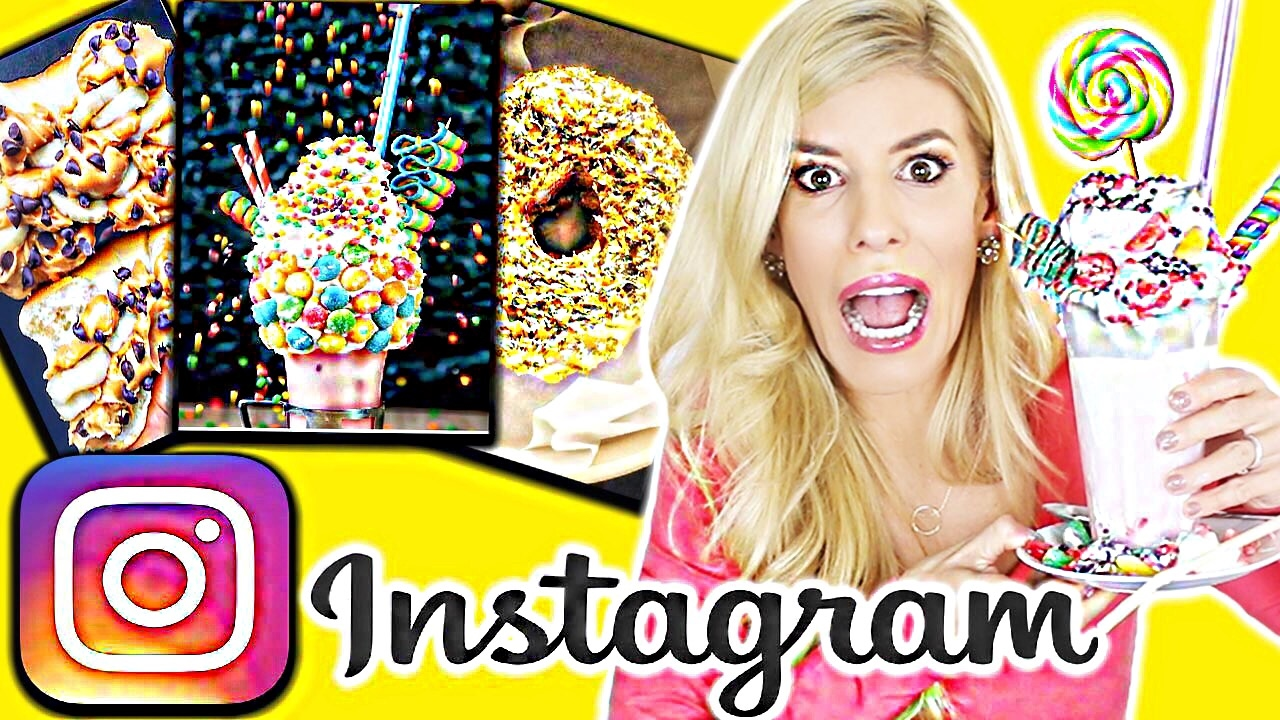 RECREATING INSTAGRAM FAMOUS DESSERTS!!