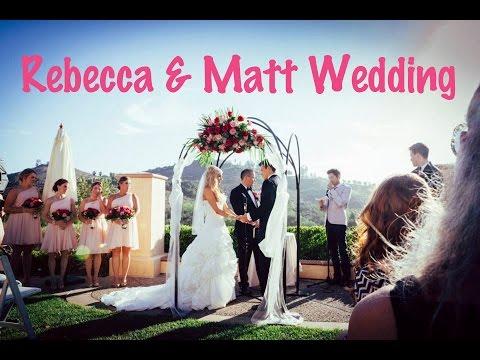 Rebecca Zamolo and Matt Yoakum Wedding Video