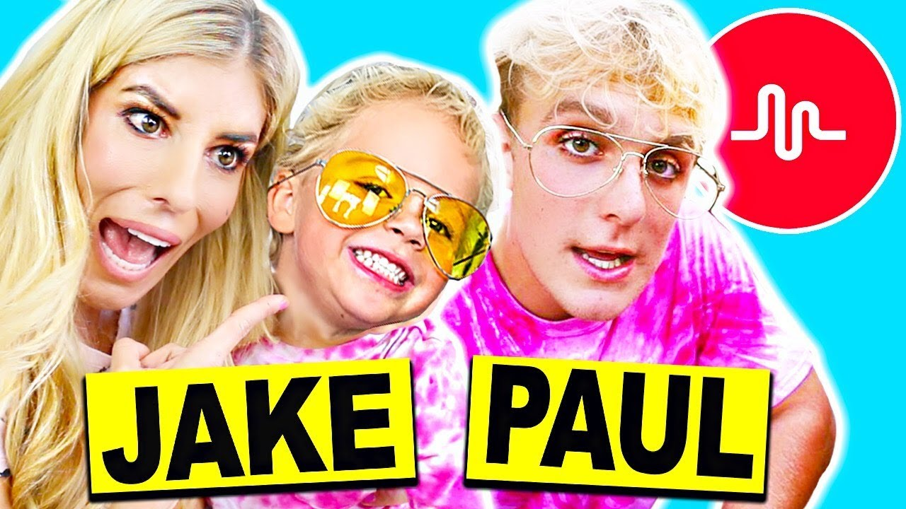 Recreating Jake Paul's Cringy Musical.lys with Mini Jake Paul