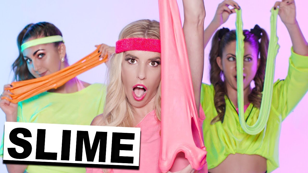 SLIME WORKOUT! (Official Music Video) | Rebecca Zamolo