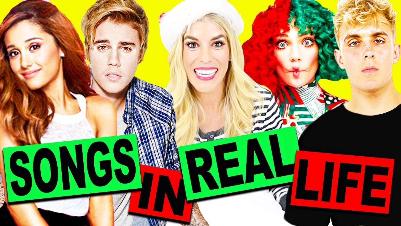 Songs In Real Life! *Holiday Edition* (Jake Paul, Ariana Grande, Justin Bieber, Sia, and more!)