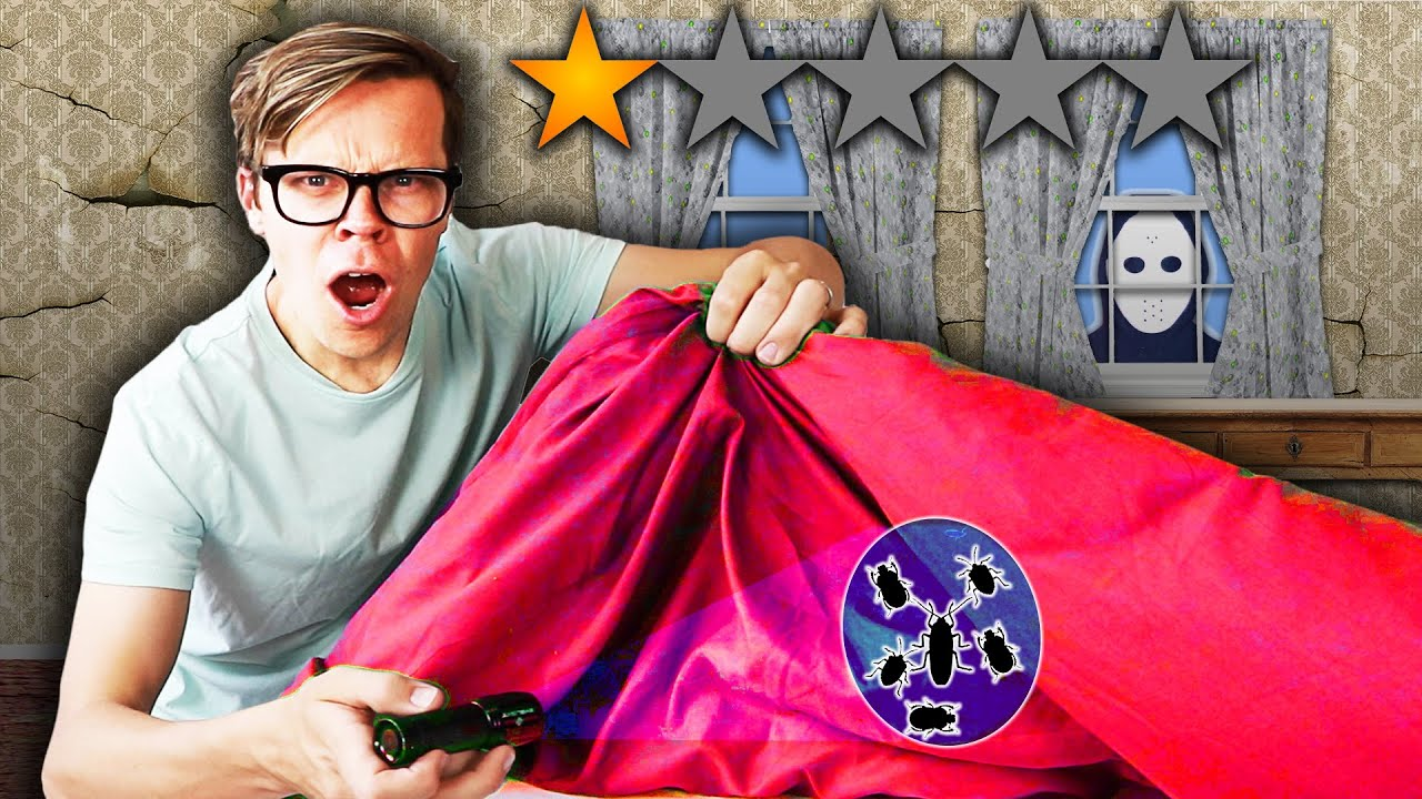 Staying At The Worst Reviewed Motel in My City (1 STAR Game Master Secret Meeting)
