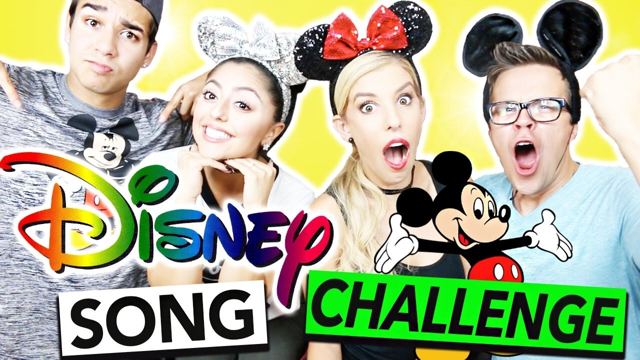 THE DISNEY SONG CHALLENGE!!
