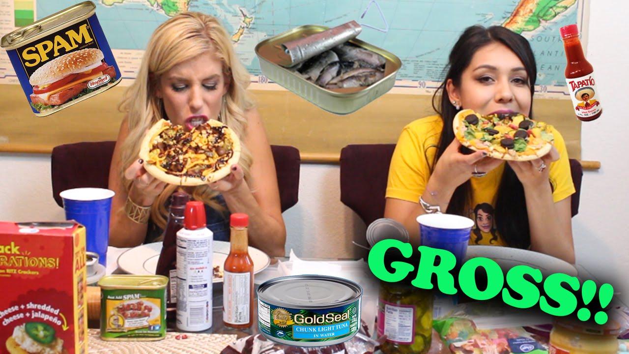 The Pizza Challenge (w/ Nikki Limo and Rebecca Zamolo)