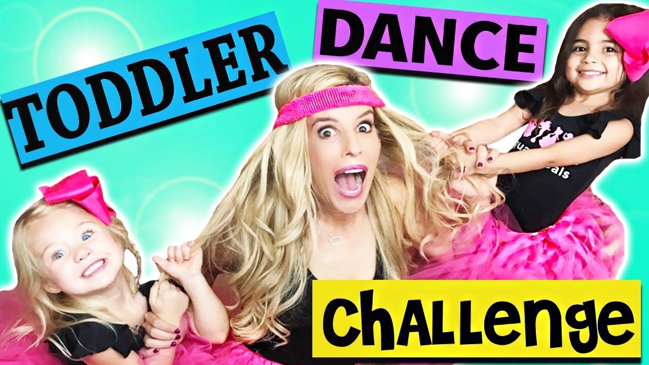 Toddlerography Dance Challenge w/ ForEverAndForAva!