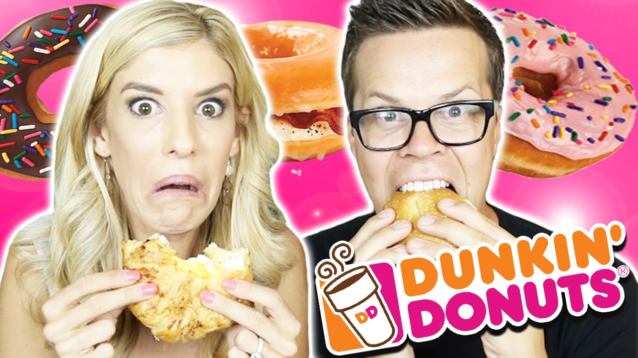 Trying Dunkin Donuts Breakfast