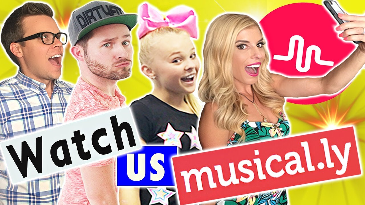 Watch Us Musical.ly! (w/ JoJo Siwa, Joshua Evans, and Matt Slays)