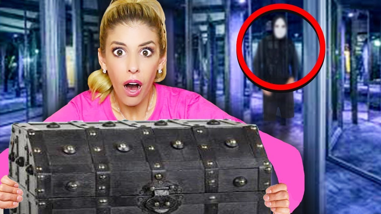 We FOUND a Mysterious Treasure Chest From GAME MASTER! (Giant Fun ESCAPE ROOM in Real Life)