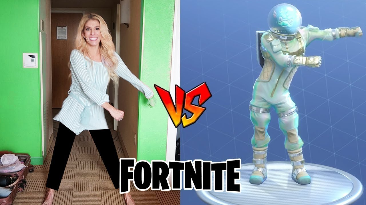 FORTNITE DANCE CHALLENGE in Real Life (at Playlist)