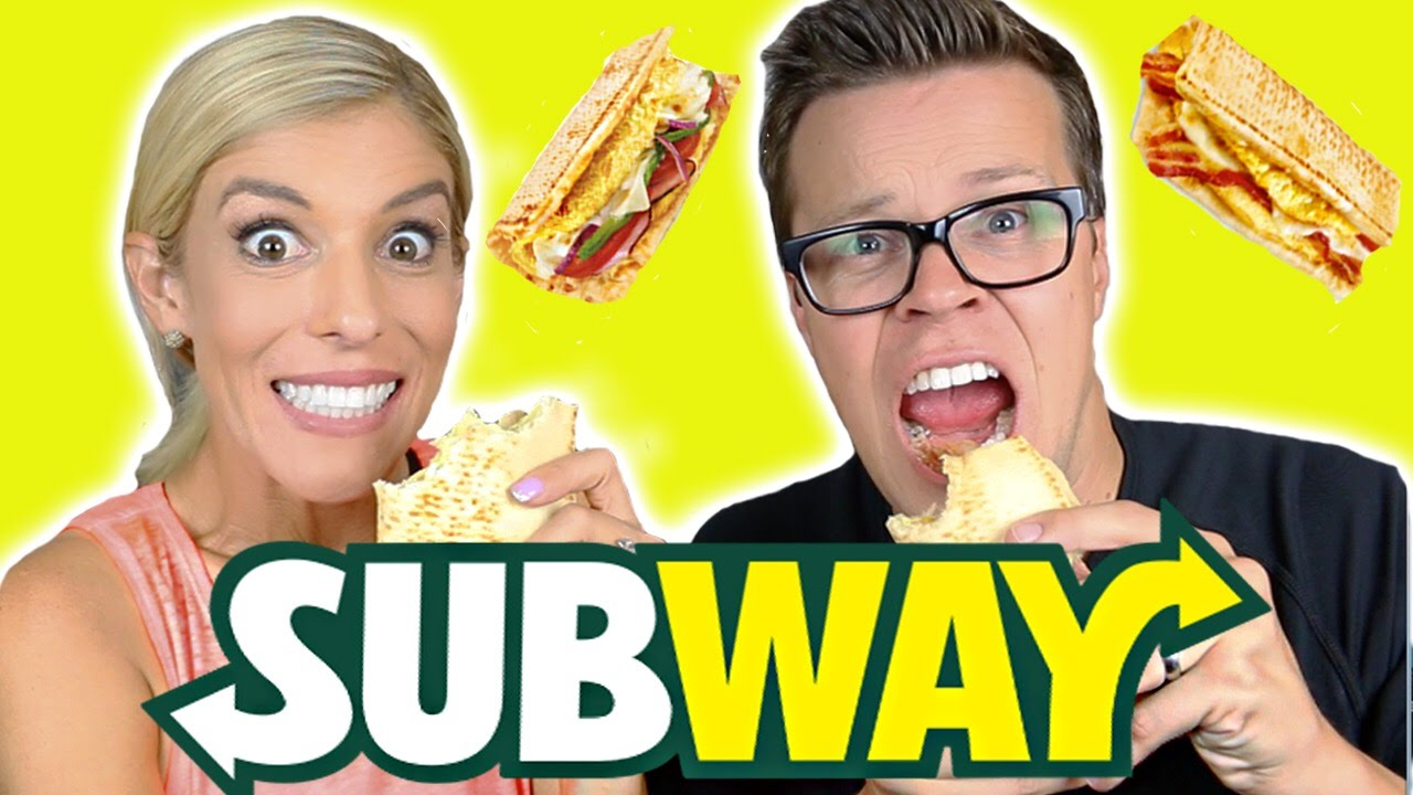 TRYING SUBWAY BREAKFAST!