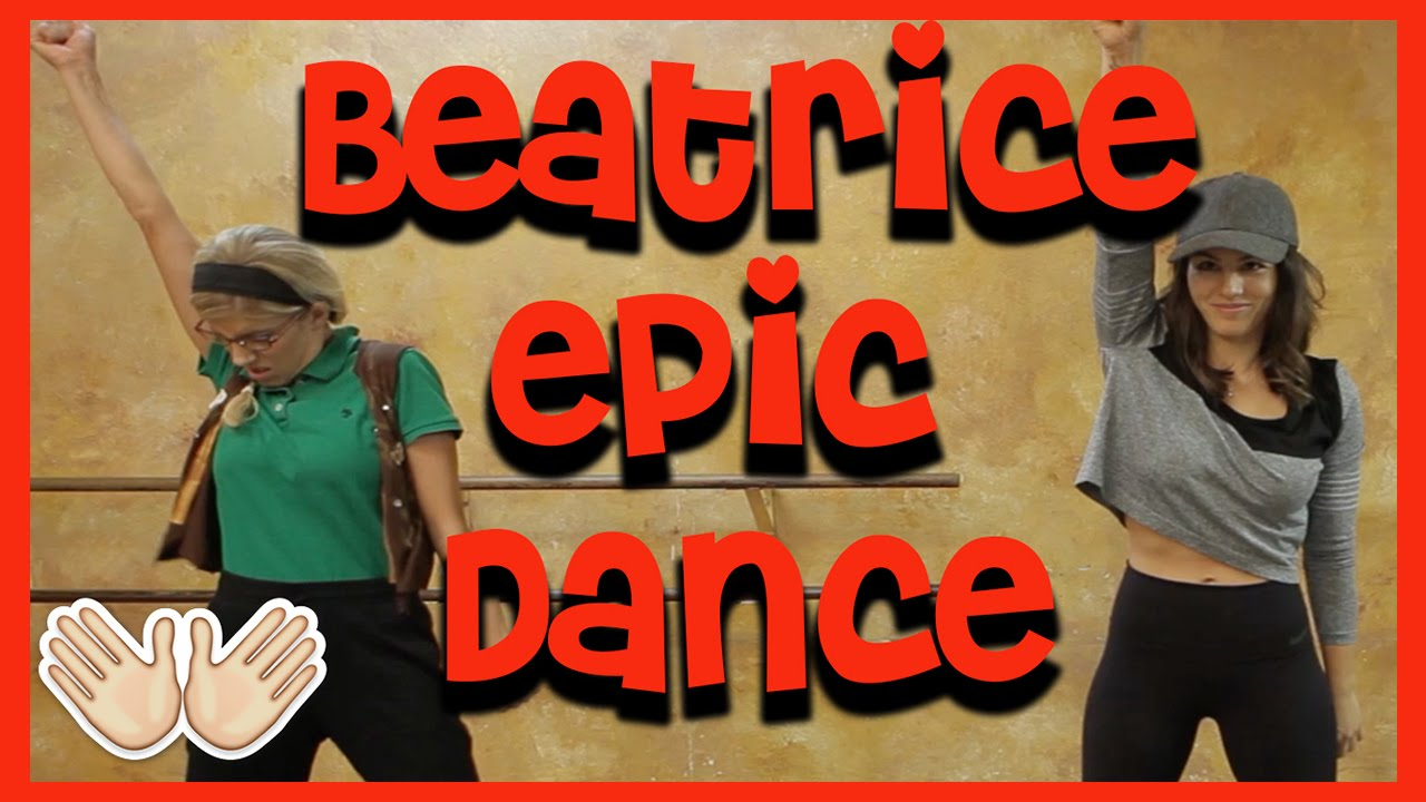 Beatrice's Epic DANCE Routine (w/ Megan Batoon)