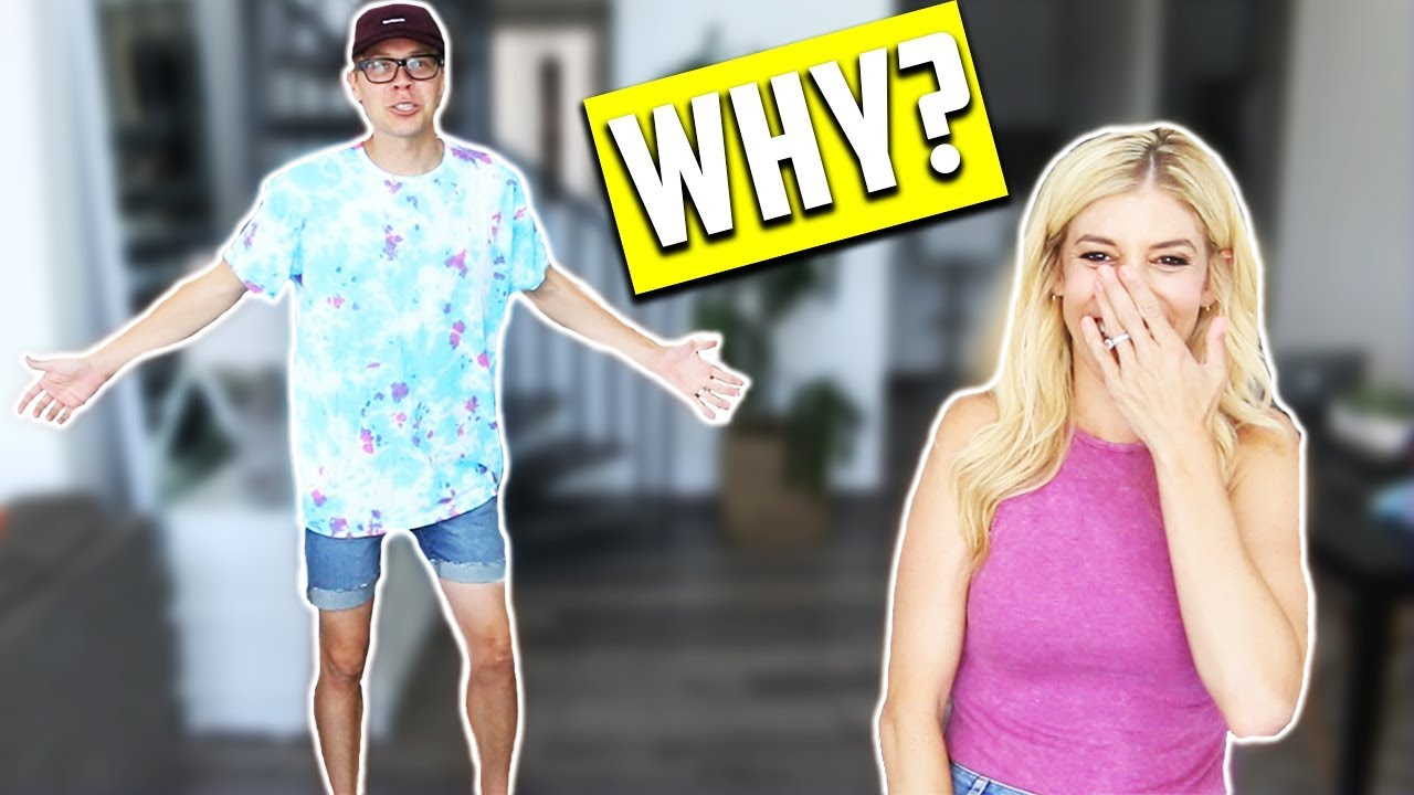 GIRLFRIEND BUYS MY OUTFITS, MARRIED EDITION!  (SHOPPING CHALLENGE 2017)