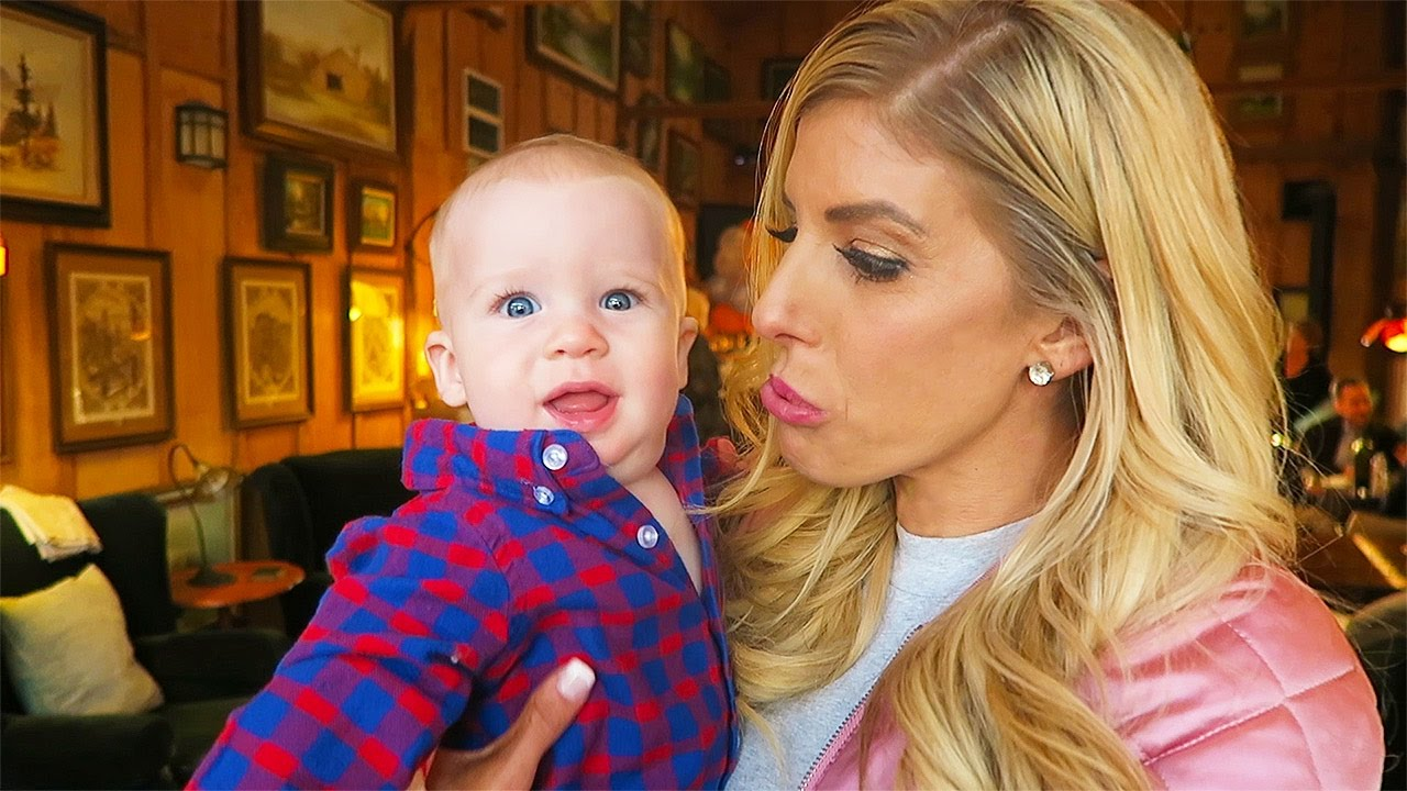 REACTING TO KIDS, I THINK WE ARE GETTING BABY FEVER! (Day 104)
