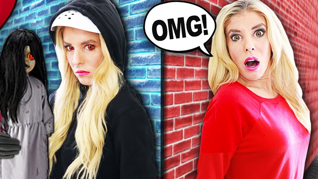 Spying on my IDENTICAL TWIN for 24 HOURS to Reveal Truth! (Creepy Doll is missing) | Rebecca Zamolo