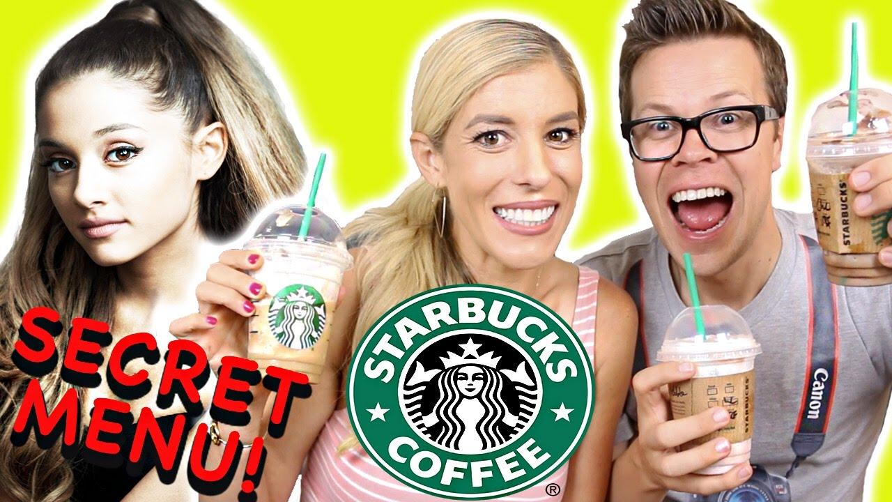 Trying Starbucks Secret Menu!