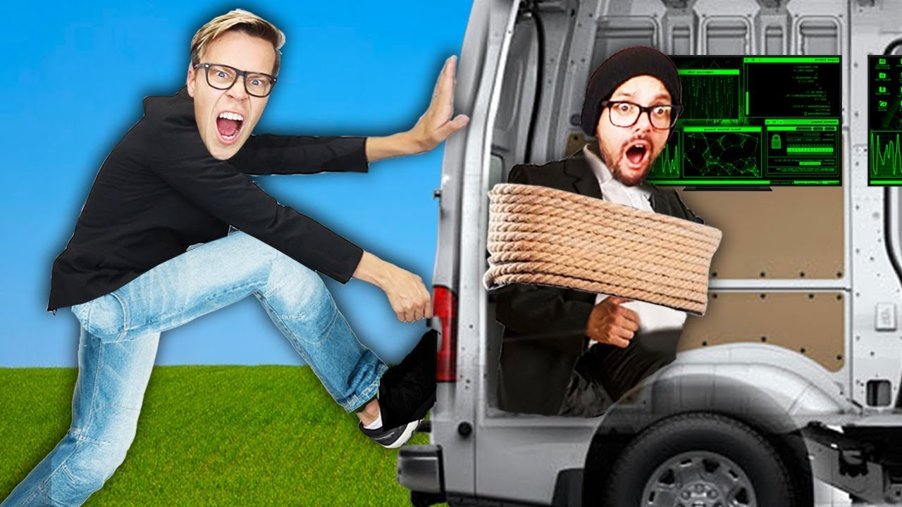 Breaking into Hacker Van to Rescue Game Master Spy! (Event Date Clues Reveal Rebecca's Birthday)