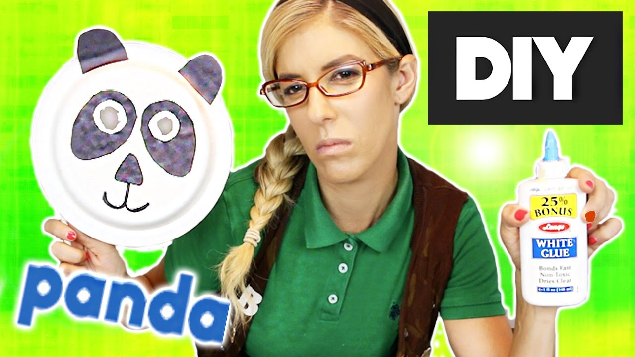 DIY Panda Mask w/ Beatrice Mumblesteen