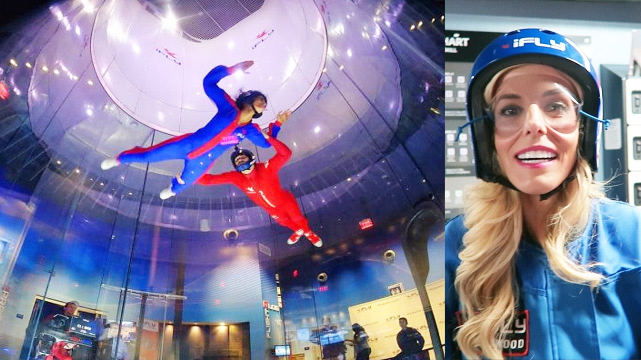 INDOOR SKYDIVING IN HOLLYWOOD!