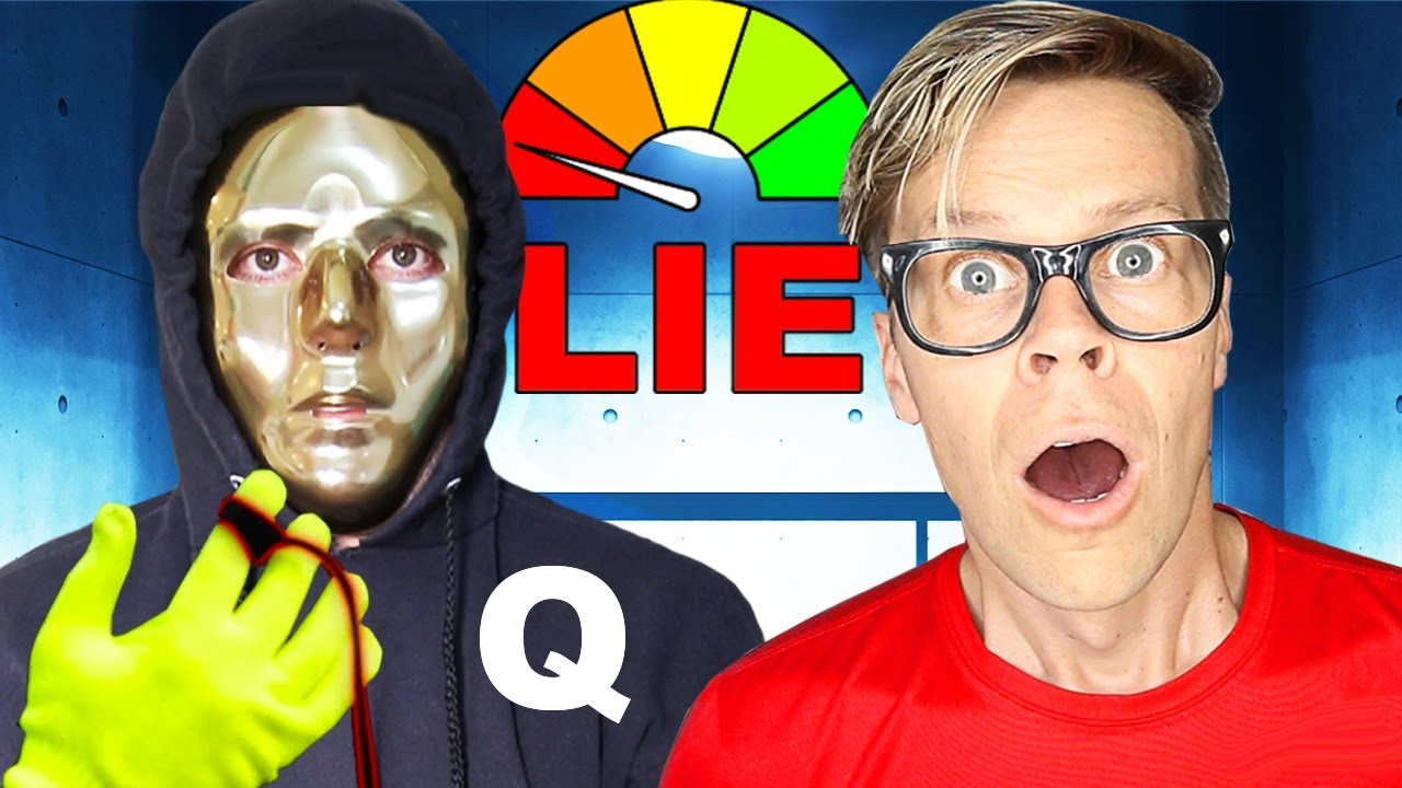 Lie Detector Test on Hacker to find Truth w/ Face Reveal! (Is Game Master Real?) Matt and Rebecca