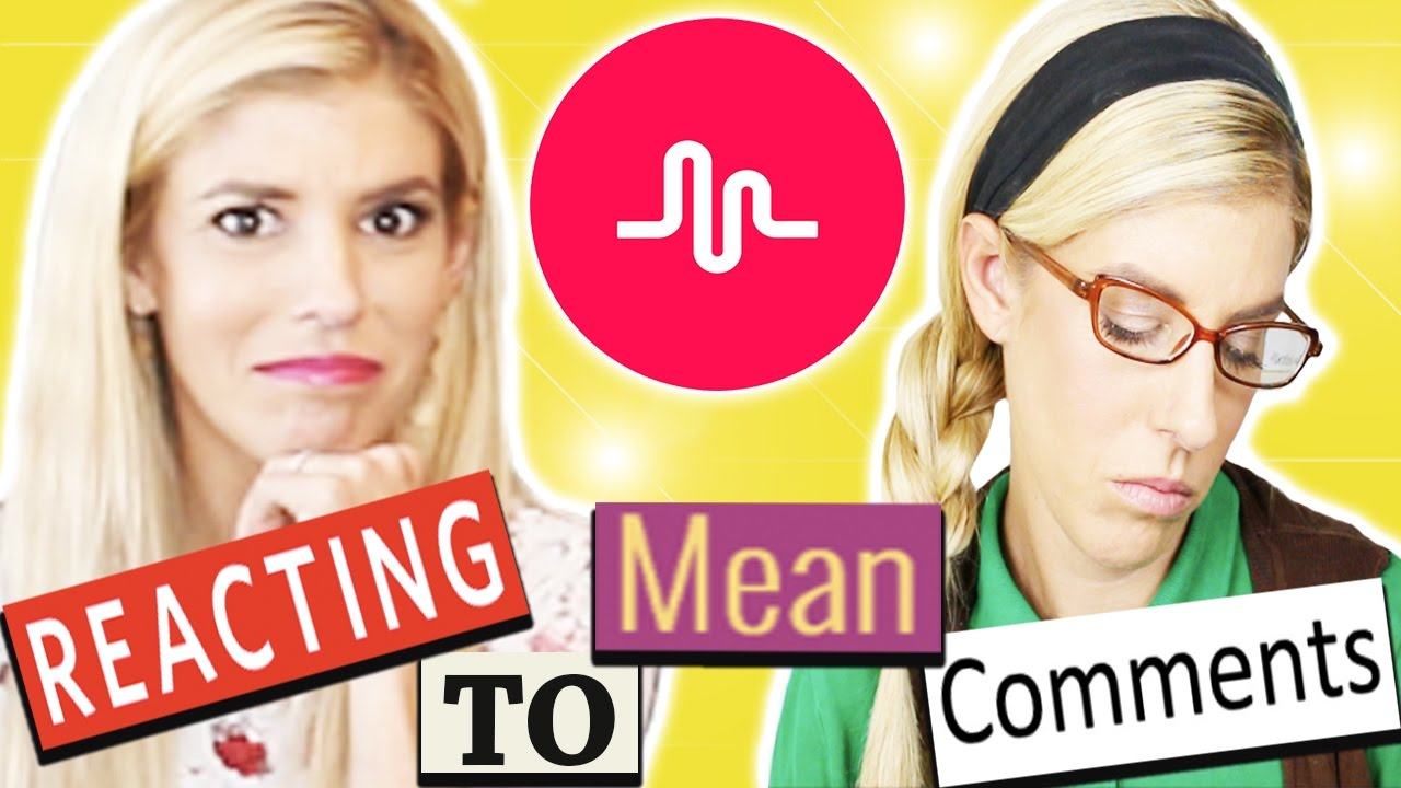 REACTING TO MEAN MUSICAL.LY COMMENTS!