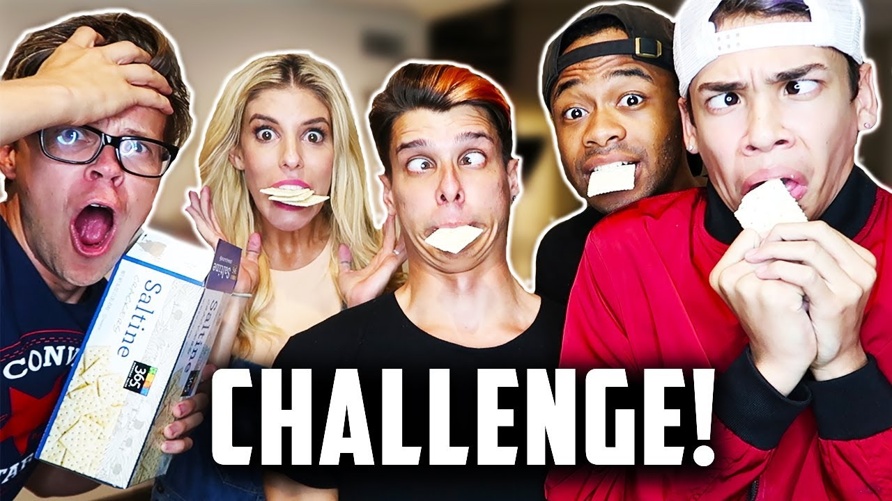 SALTINE CHALLENGE WITH THE CROESBROS! (DAY 220) CRAZY REACTION