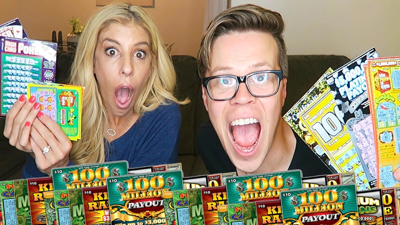 SCRATCHING LOTTERY TICKETS! HOW MUCH DID WE WIN? (Day 132)