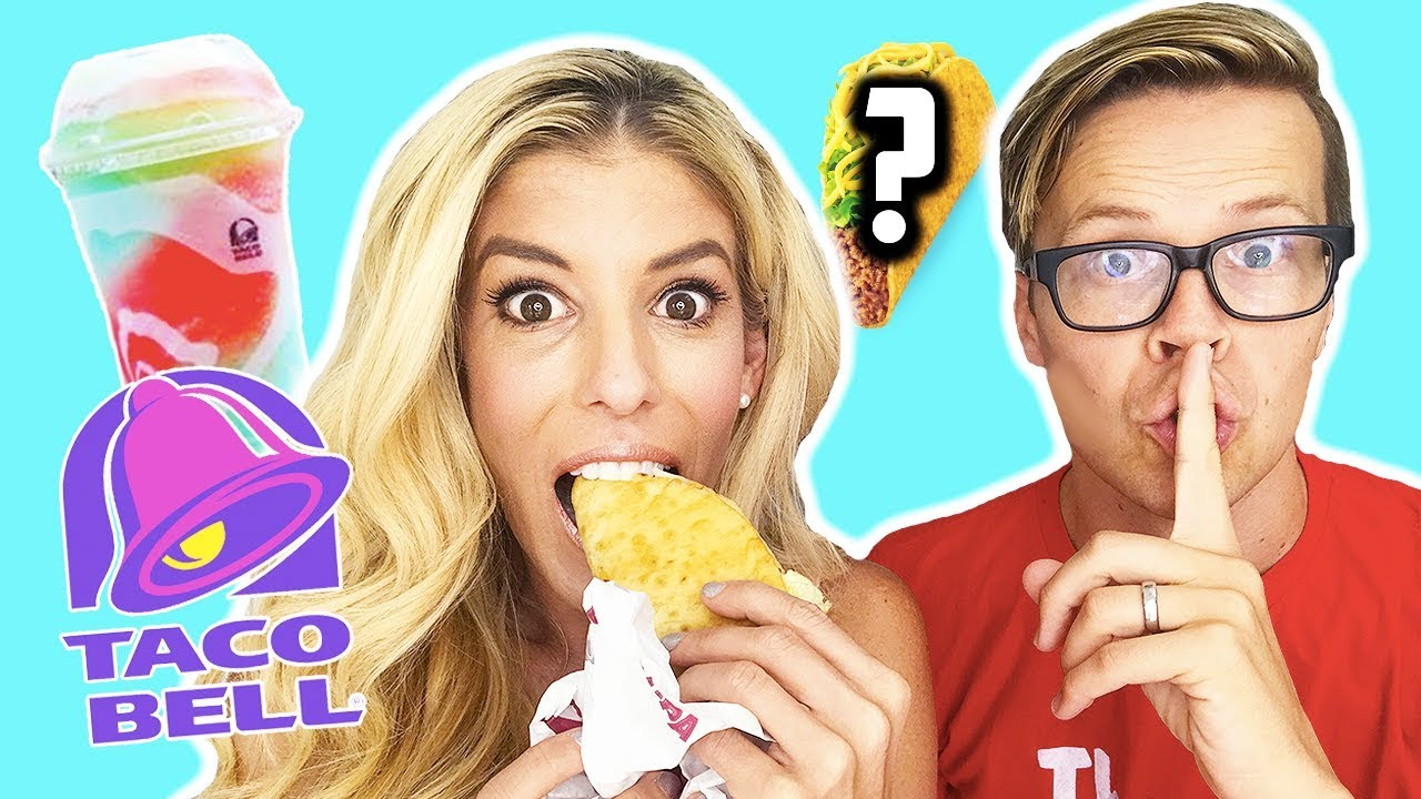 TRYING TACO BELL'S SECRET MENU HACKS! (DAY 257)