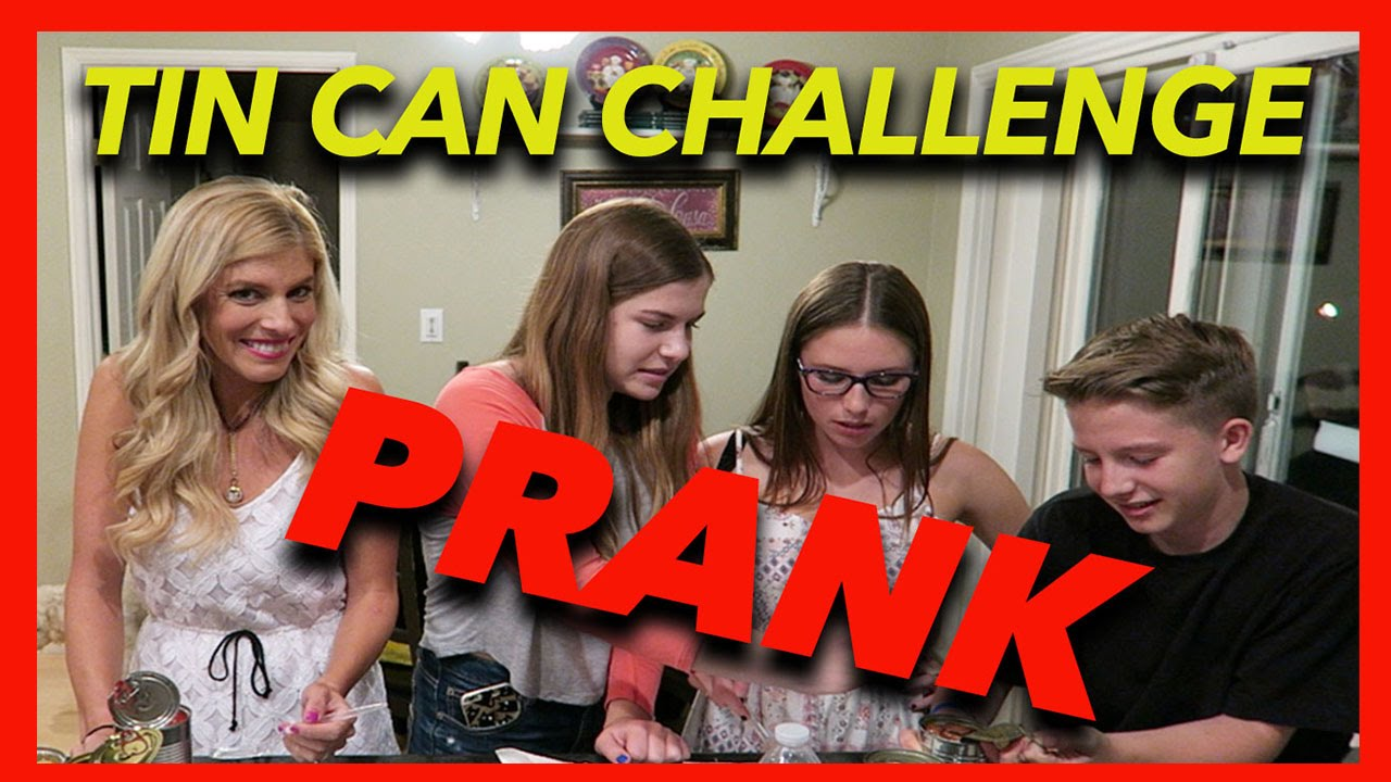 Tin Can Challenge PRANK!