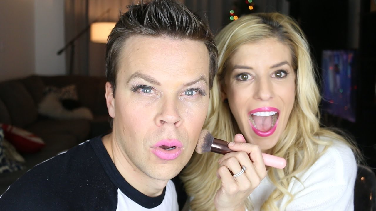 WIFE DOES MY MAKE-UP!