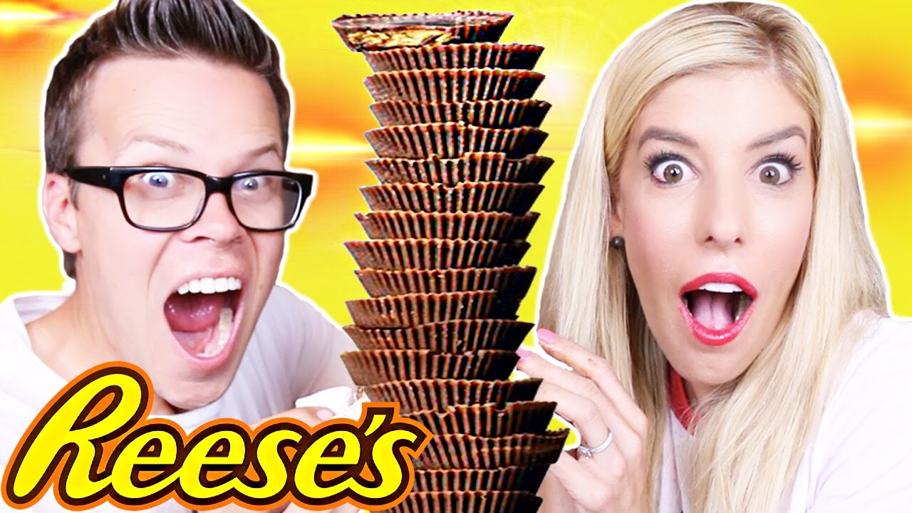 100 LAYERS OF REESE'S CUPS!!!