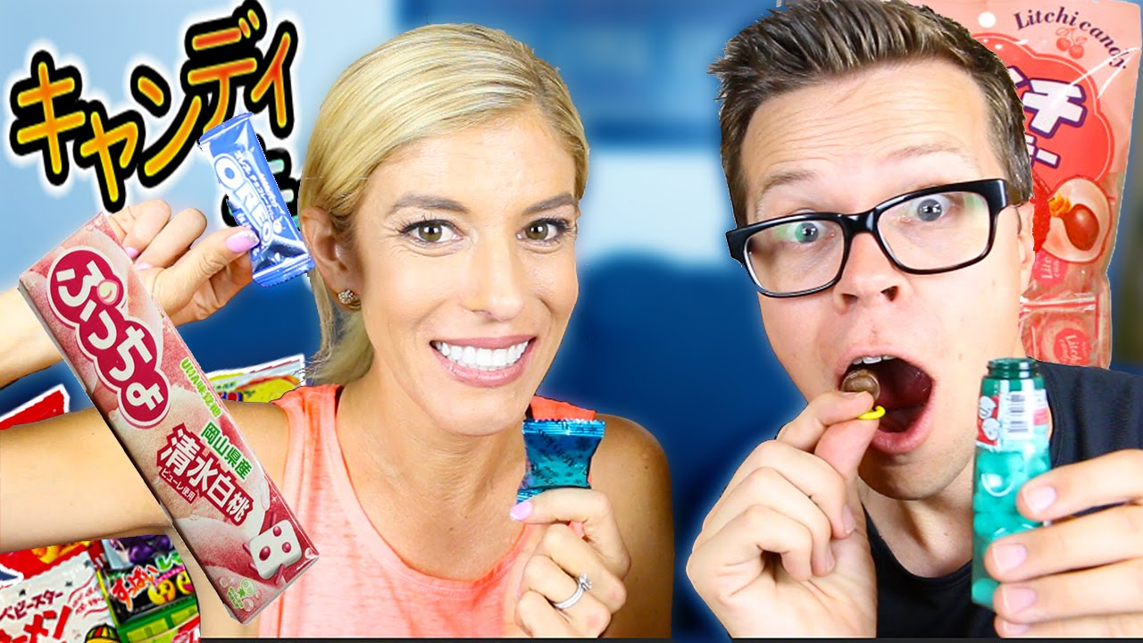 AMERICANS TRY JAPANESE CANDY WITH REBECCA ZAMOLO
