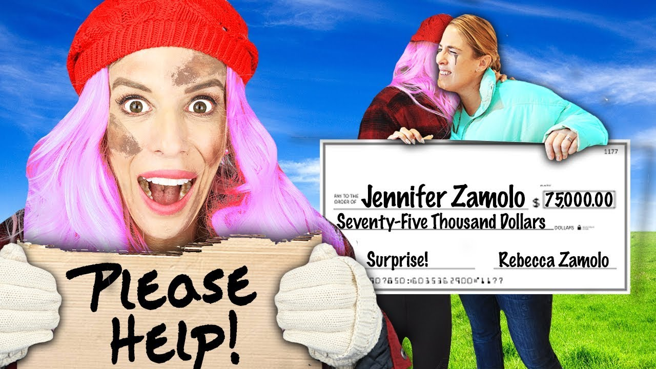 I Gave My SISTER $75,000 in DISGUISE UNDERCOVER For 24 Hours! (Truth or Dare PRANK Challenge)