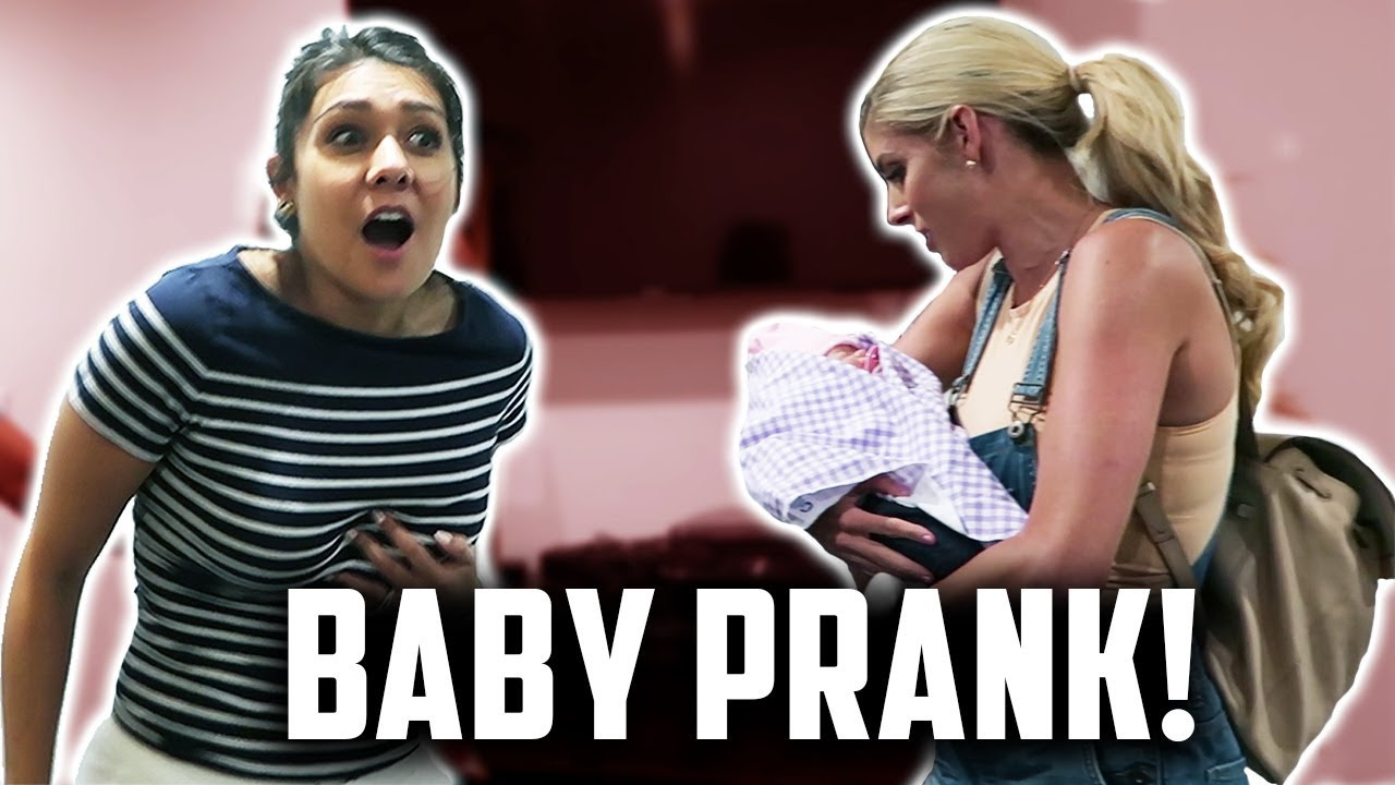 PRANKING PEOPLE WITH A FAKE BABY   Day 242