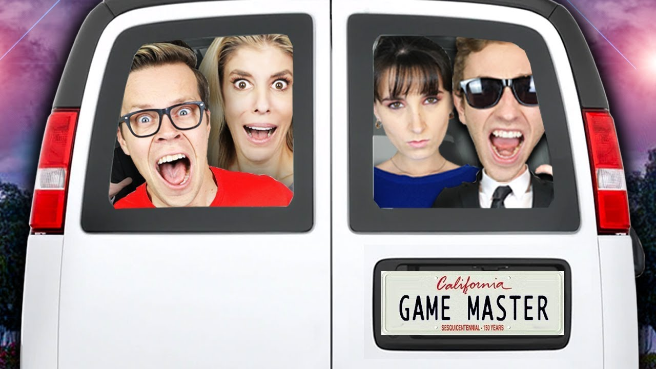 TRAPPED in GAME MASTER Van for 24 HOURS with GMI Agents! (Secret Crush Revealed) Matt and Rebecca