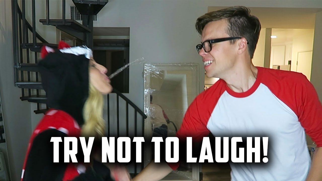 TRY NOT TO LAUGH CHALLENGE - (DAY 165)